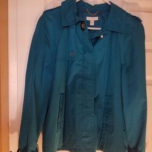 Aqua blue , jacket